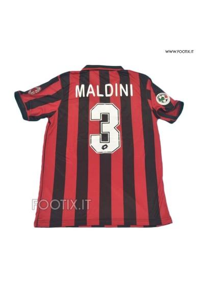 Maglia MALDINI - Home Milan 1996/97