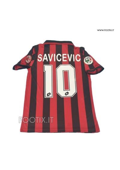 Maglia SAVICEVIC - Home Milan 1996/97