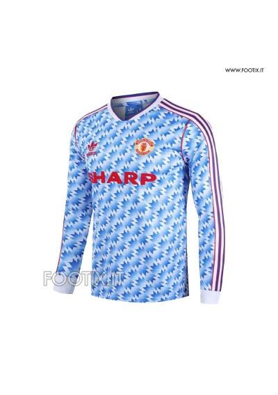 Maglia Away Manchester United 1990/92 - MANICA LUNGA